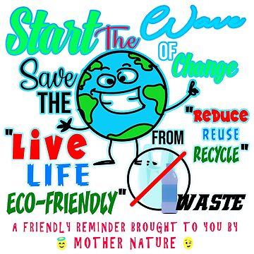 No To Plastic Tote Bag by Merbie