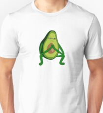 Avocado Rap Squat Unisex T-Shirt