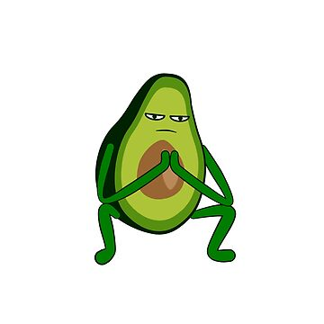 Avocado Rap Squat by lurchmerch