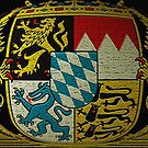 Symbol of Bavaria..Coat of Arms  by edsimoneit