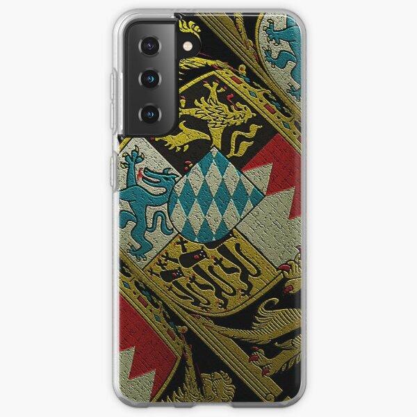 Symbol of Bavaria..Coat of Arms  Samsung Galaxy Soft Case