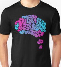 THNK. | Pink & Blue Fade Unisex T-Shirt