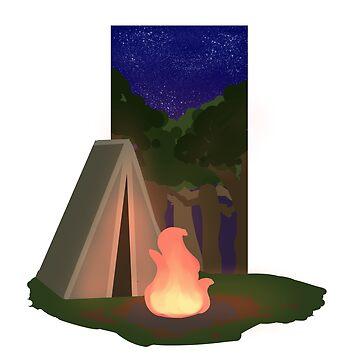 camping by kawaideathmatch