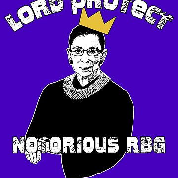 Ruth Bader Ginsburg SCOTUS NOTORIOUS RBG by LoveAndDefiance