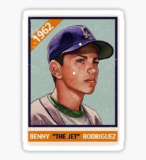 Sandlot (Benny The Jet) Sticker