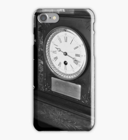 The Lateness of Love iPhone Case/Skin