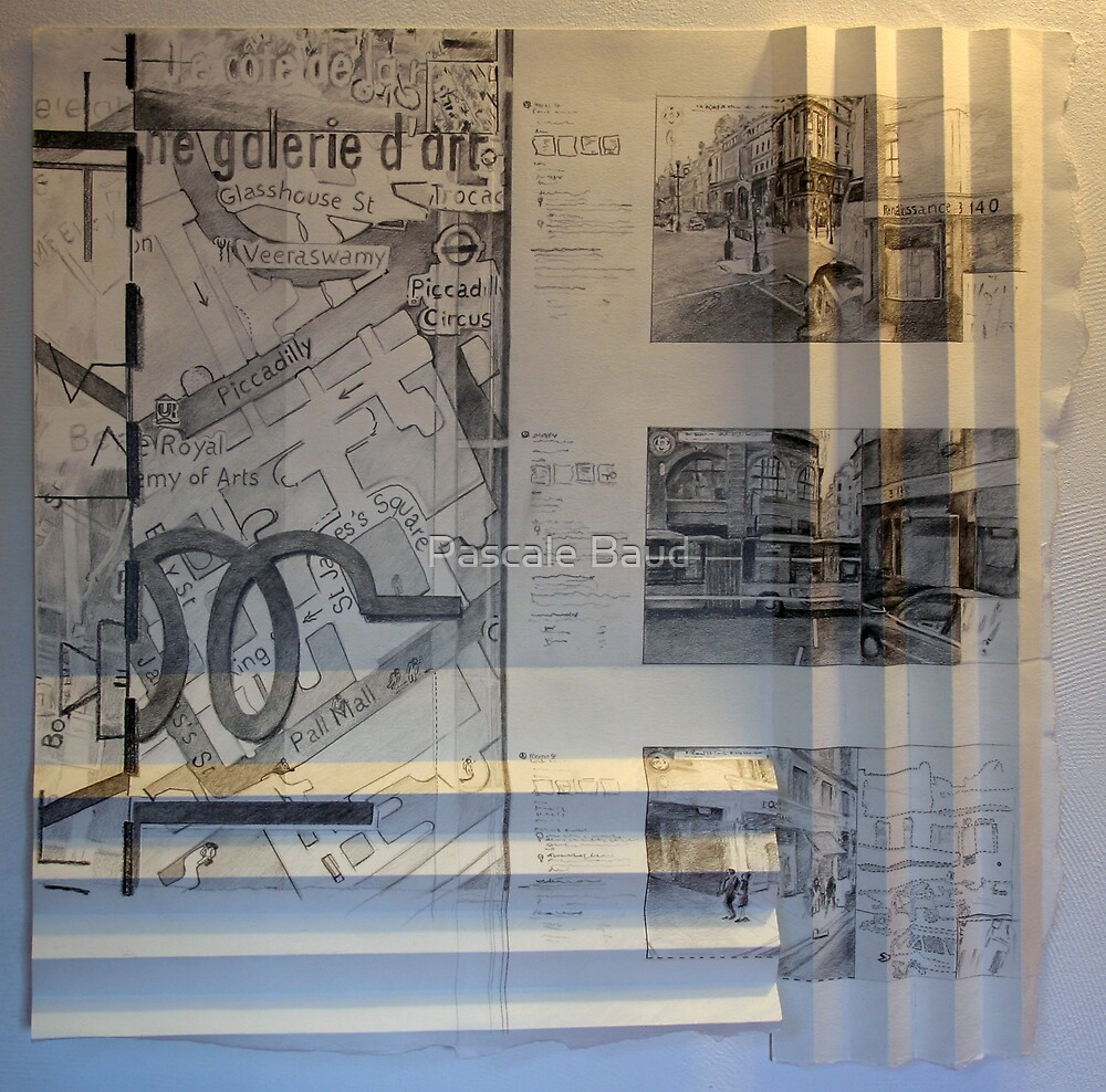 140 Regent St - Drawing by Pascale Baud