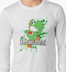 I Main Yoshi - Super Smash Bros. T-Shirt
