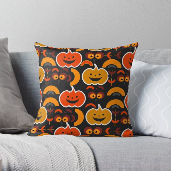 My funny and cute Halloween Throw Pillow