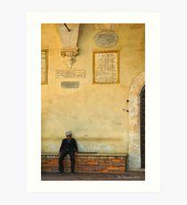 Pienza, Italy Art Print