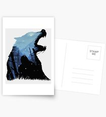 Jon Snow - King of The North Postcards