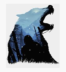 Jon Snow - King of The North Photographic Print