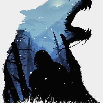 Jon Snow - King of The North by -Shiron-