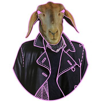 Leather Jacket Goat by Naivuren