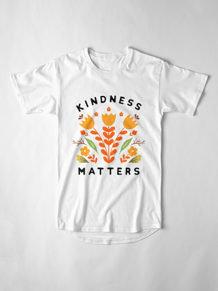 Alternate view of kindness matters Long T-Shirt