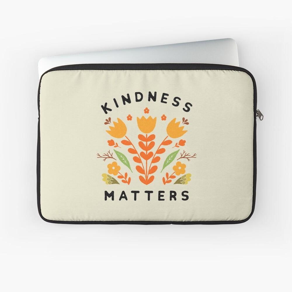 kindness matters Laptop Sleeve