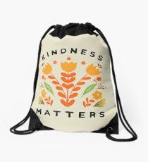kindness matters Drawstring Bag
