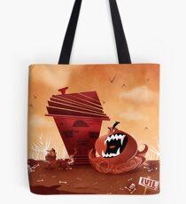 monster chaser Tote Bag