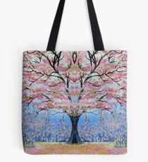 Cherry Blossom Tree of Life  Tote Bag