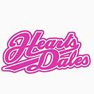 Heartsdales logo pink white by dubukat