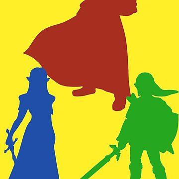 The Legend Of Zelda by SNluvsME