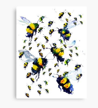 BAANTAL / Pollinate / Bees Canvas Print