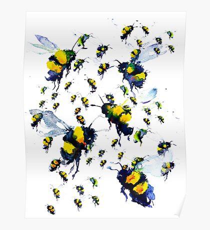 BAANTAL / Pollinate / Bees Poster
