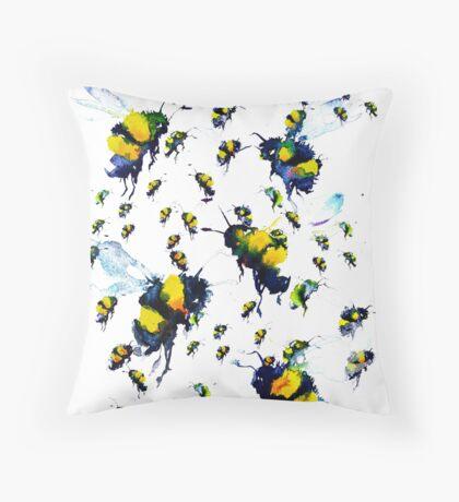 BAANTAL / Pollinate / Bees Throw Pillow
