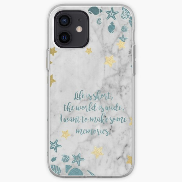 I want to Make some memories. iPhone Soft Case