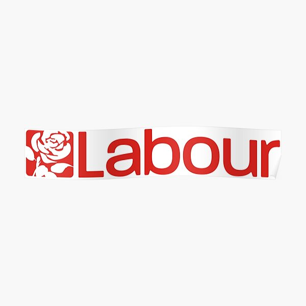Labour Party Logo Poster