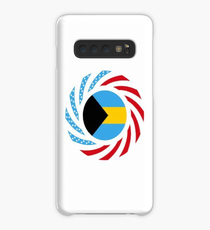 Bahamian American Multinational Patriot Flag Series Case/Skin for Samsung Galaxy