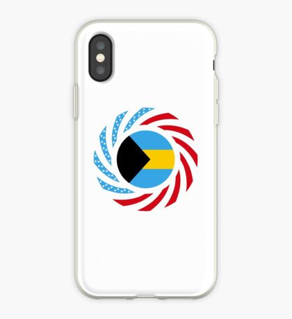 Bahamian American Multinational Patriot Flag Series iPhone Case