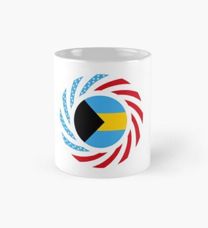 Bahamian American Multinational Patriot Flag Series Mug