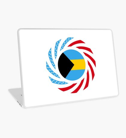 Bahamian American Multinational Patriot Flag Series Laptop Skin