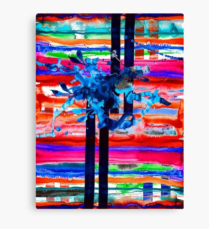 BAANTAL / Lines Canvas Print