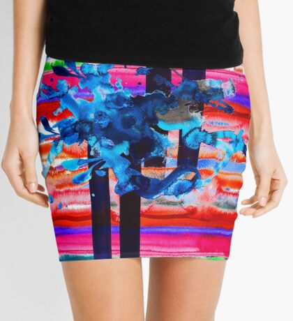BAANTAL / Lines Mini Skirt