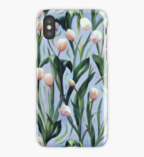 Waiting on the Blooming - a Tulip Pattern iPhone Case/Skin