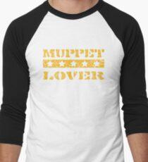 Muppet lover (orange) Men's Baseball ¾ T-Shirt