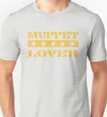Muppet lover (orange) Unisex T-Shirt
