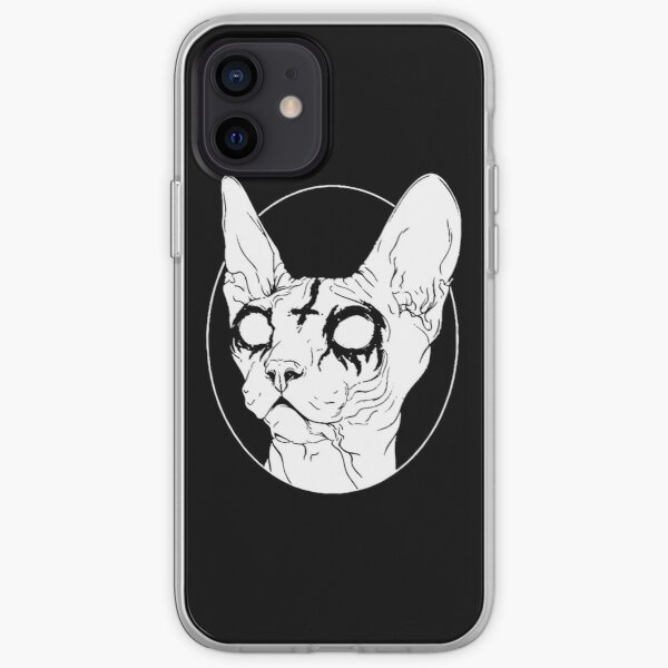 Satanic Sphynx iPhone Soft Case