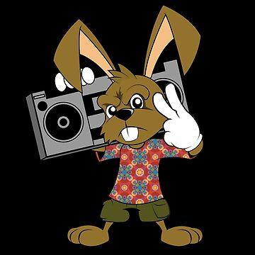 Hip Hop Hare by PxLxA-Studio