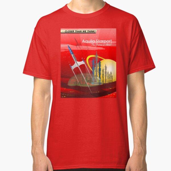 Mars Colony - Red Eye Classic T-Shirt