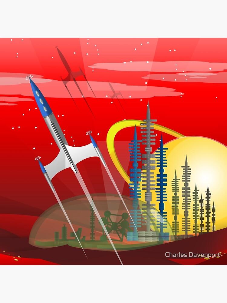 Mars Colony - Red Eye by cdavenport4