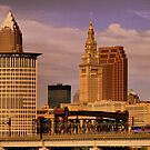 Terminal Tower by Jeff  Burns