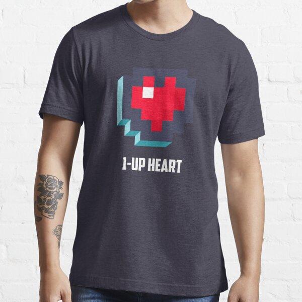 1-UP HEART Essential T-Shirt