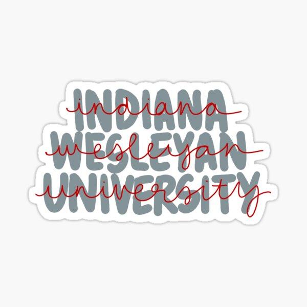indiana wesleyan university Sticker
