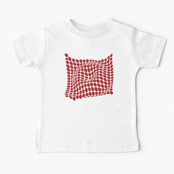 COME INSIDE (RED S/F) Camiseta para bebés