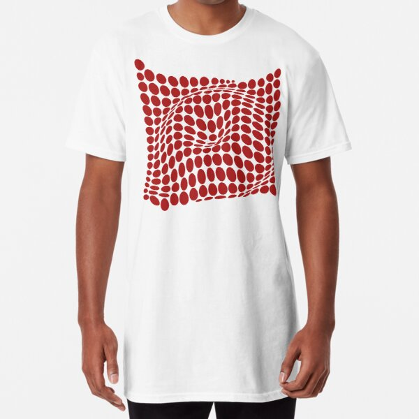 COME INSIDE (RED S/F) Camiseta larga
