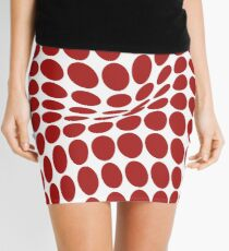 COME INSIDE (RED S/F) Minifalda