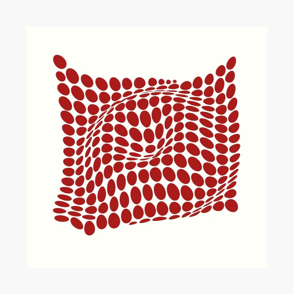 COME INSIDE (RED S/F) Lámina artística